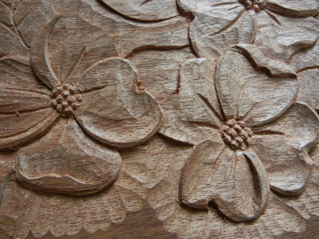 Carving a Dogwood Flower - Introduction
