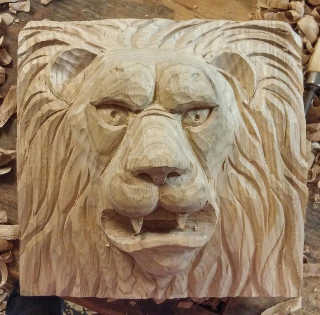 Carving a Lion Head - Introduction