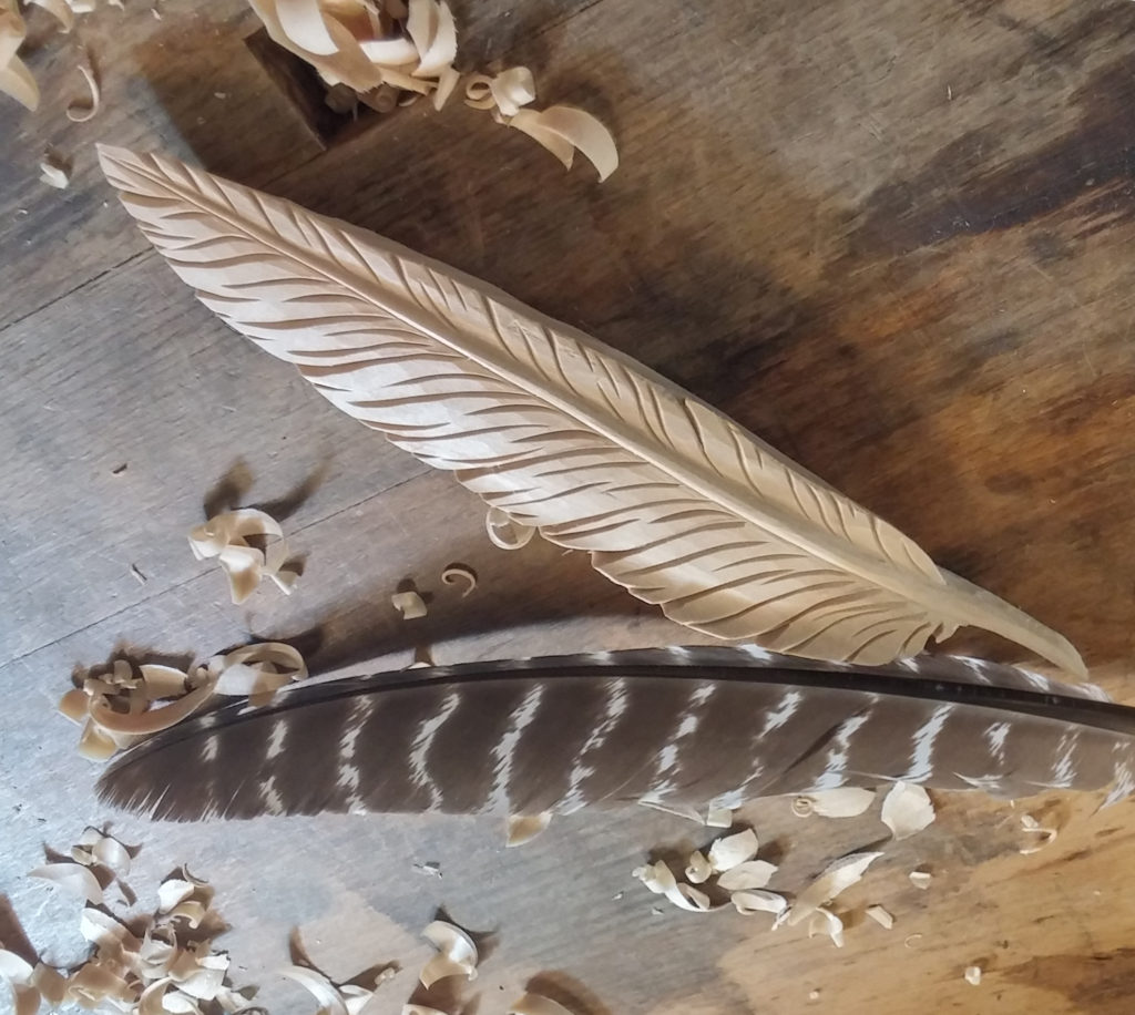 Carving a Feather - Introduction