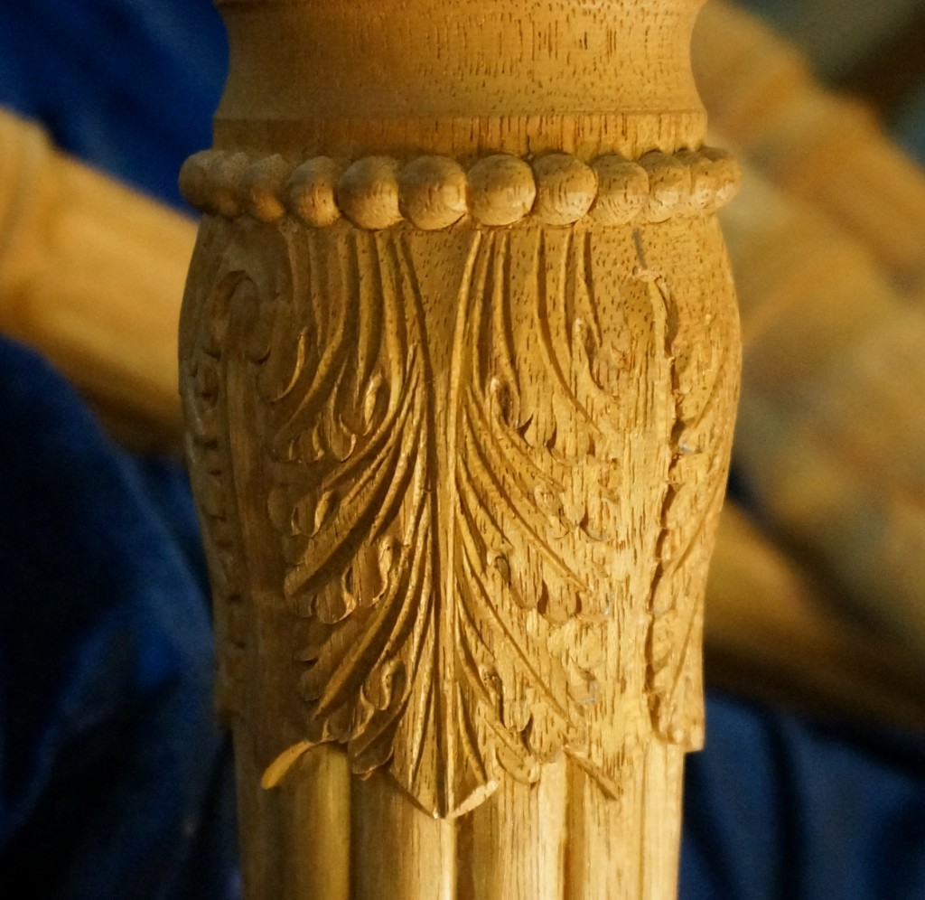 Carving Acanthus Leaves on a Turning - Introduction