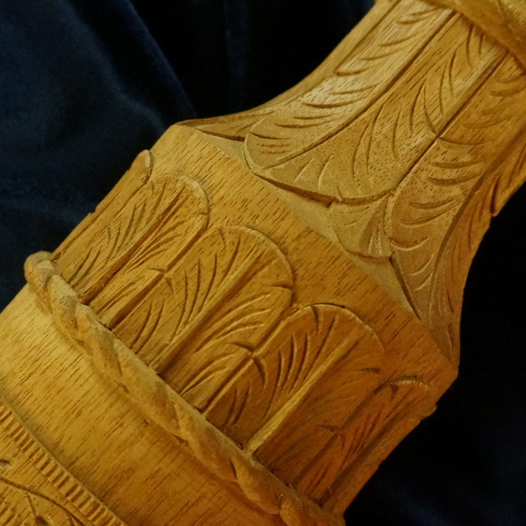 Carving a Charleston Rice Bed Post - Part 4 - Carving the Necking with Water Leaves - Introduction
