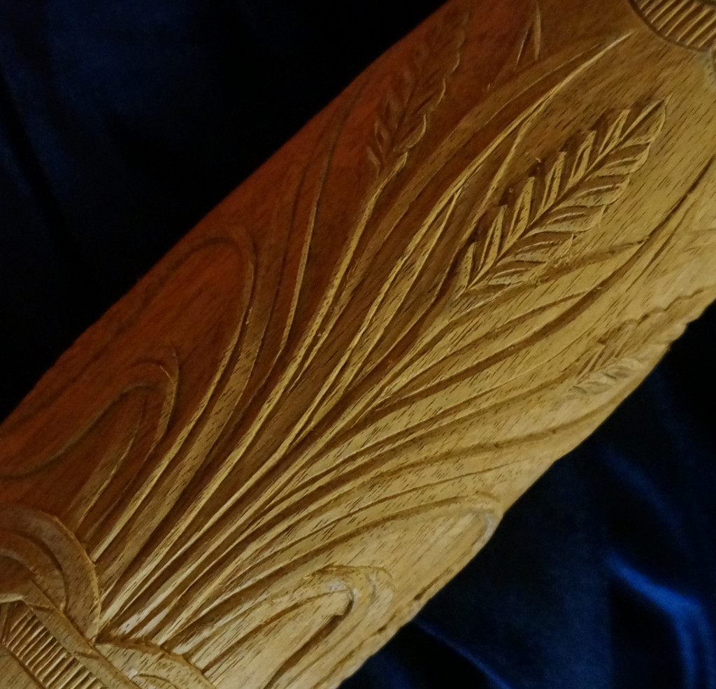 Carving a Charleston Rice Bed Post - Part 1 - Carving the Rice Sheaf - Introduction