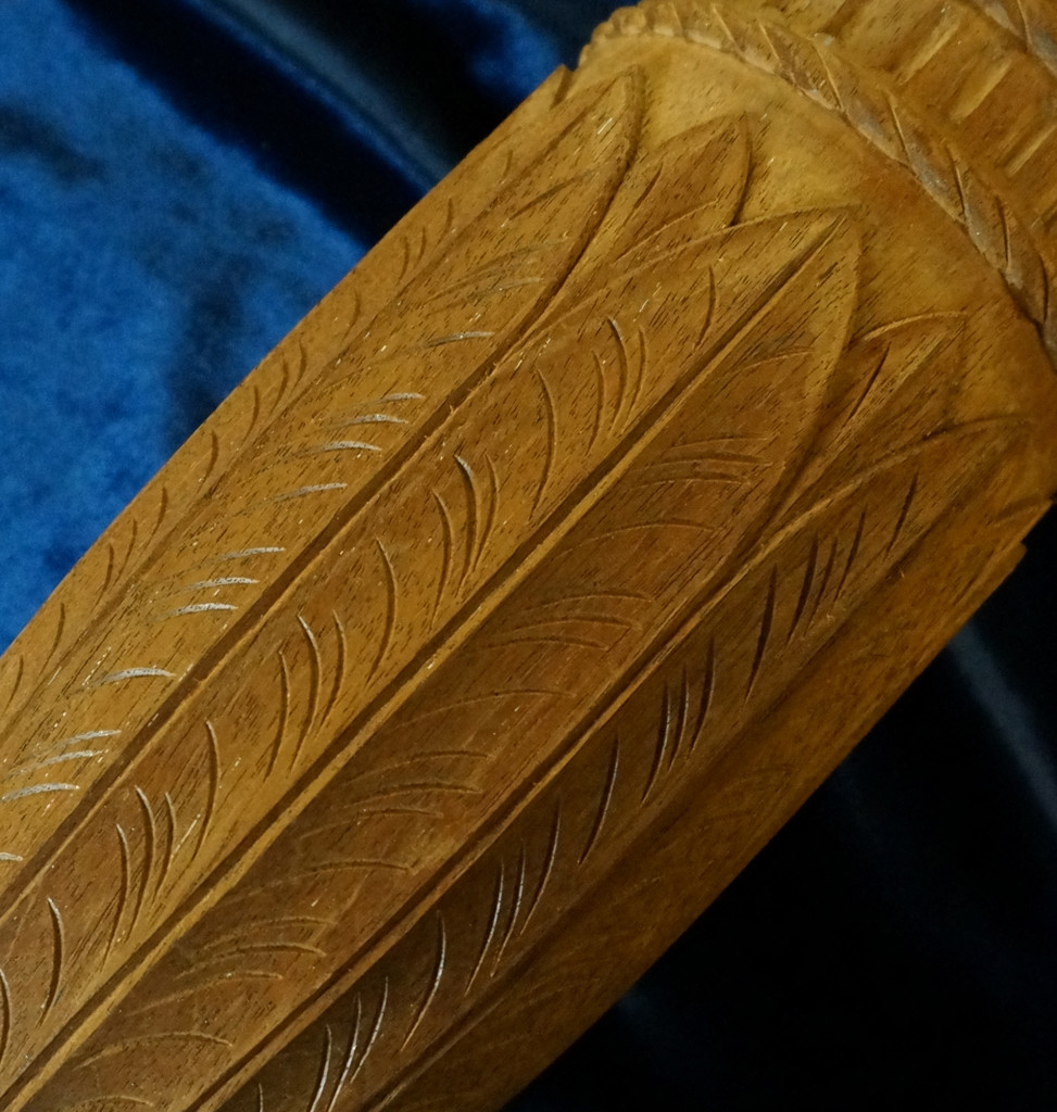 Carving a Charleston Rice Bed Post - Part 5 - Carving the Urn with Water Leaves - Introduction