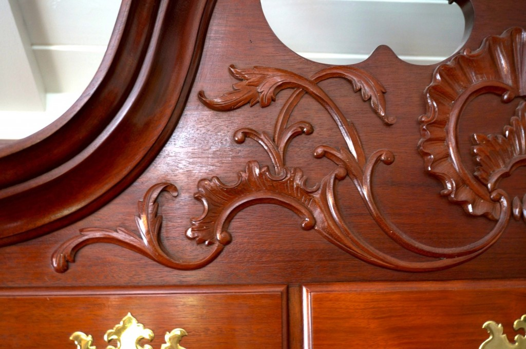 Carving a Philadelphia Highboy Acanthus Design - Introduction