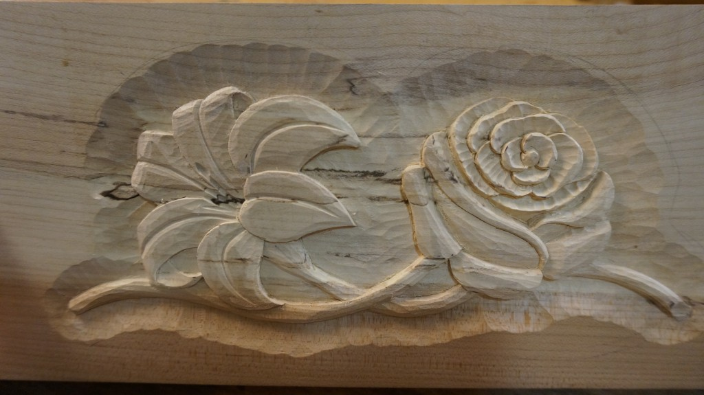 Carving a Lily & Rose - Introduction