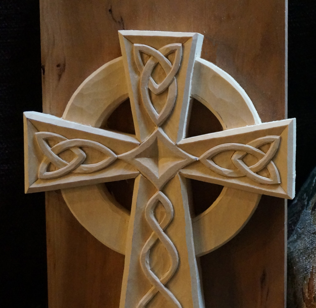 Carving a Celtic Cross - Introduction