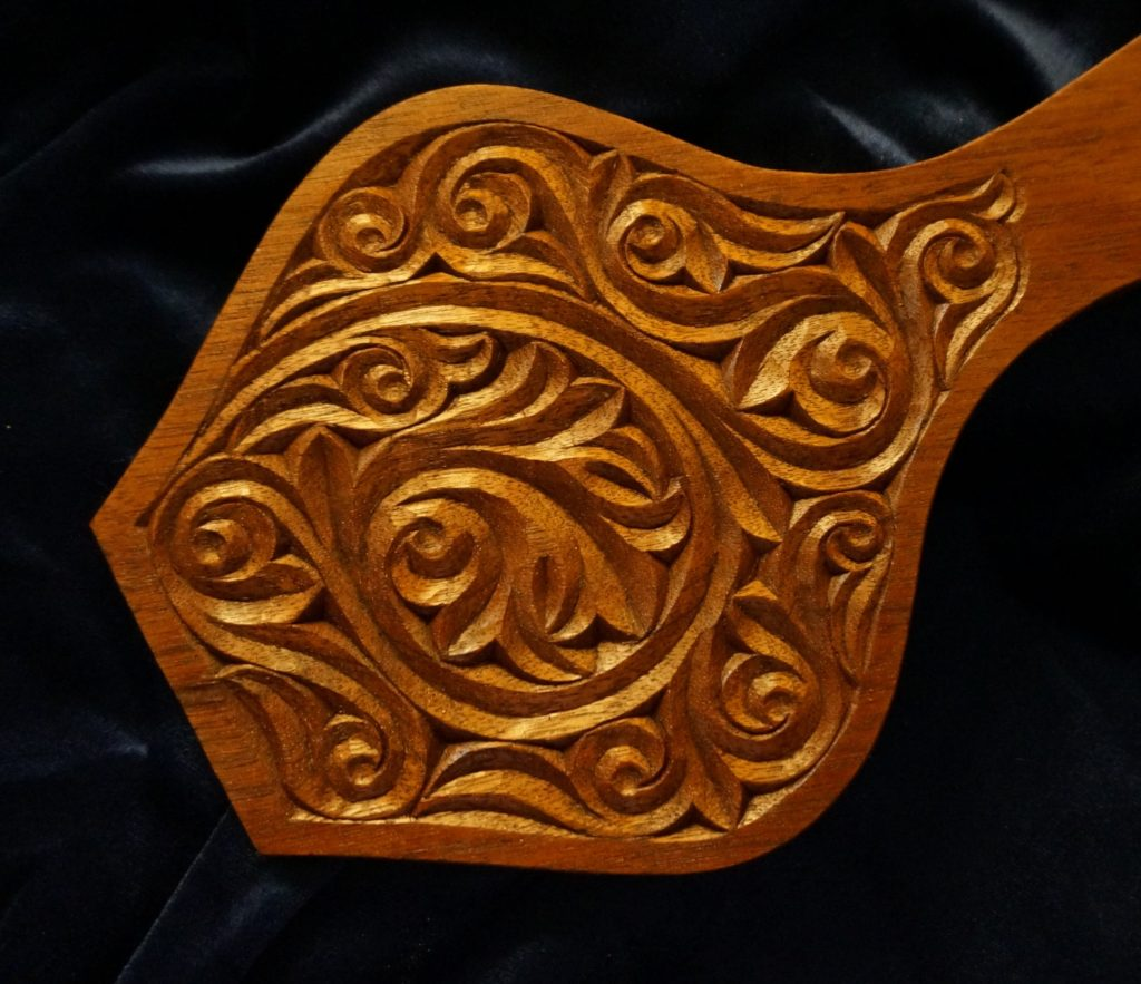 Carving the Byzantine Style on a Bellows - Introduction