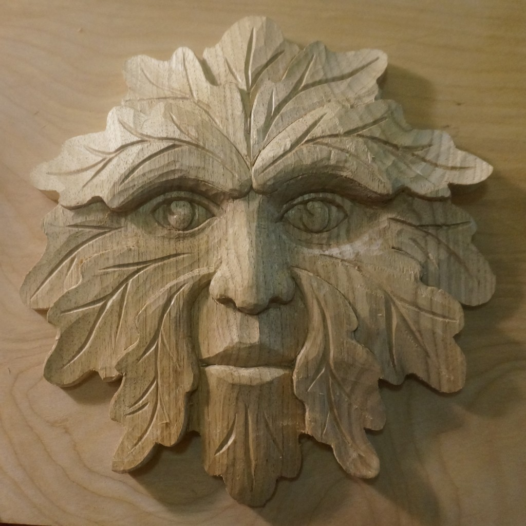 Carving a Green Man - Introduction