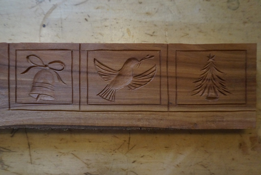Carving a Christmas Springerle Mold - Introduction