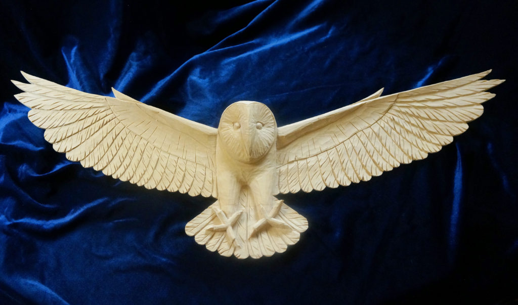 Carving a Barn Owl - Introduction