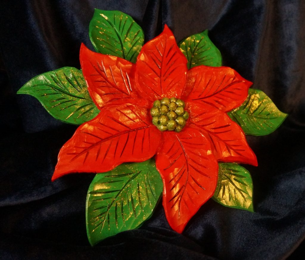 Carving a Poinsettia - Introduction