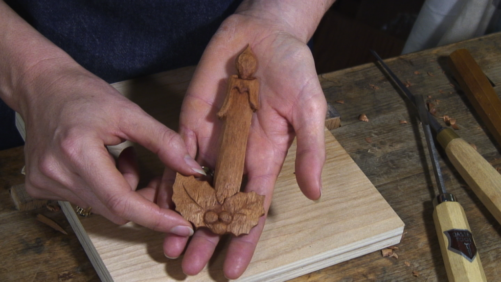 Carving a Christmas Candle - Introduction