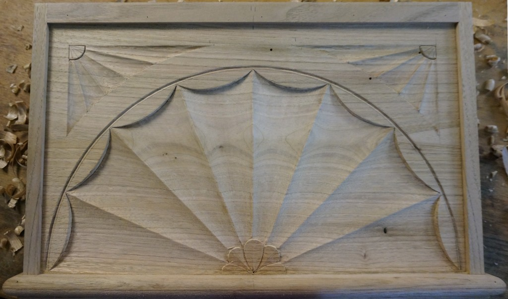 Carving a Fireplace Fan - Introduction