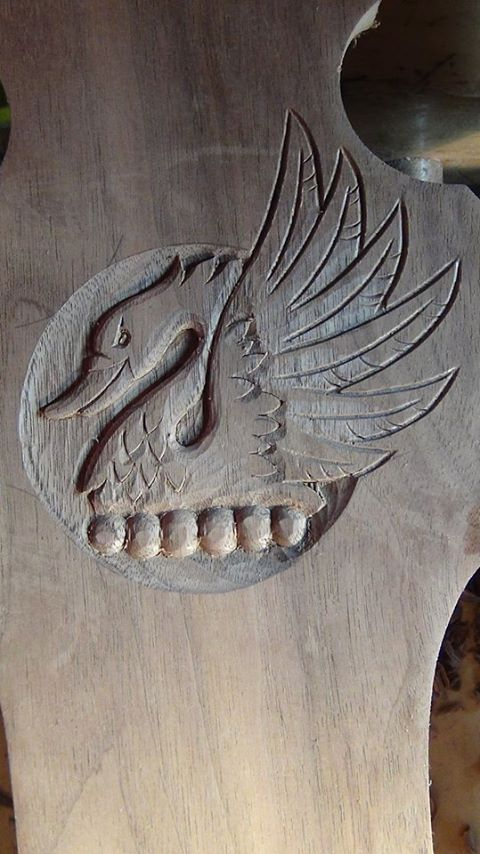 """Carving an """"Angry Swan"""" - Introduction"""
