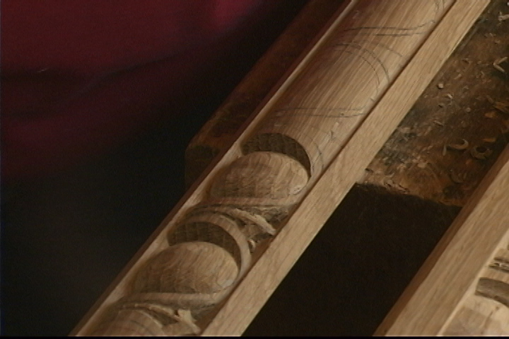 Carving Egg & Dart Molding in White Oak - Introduction