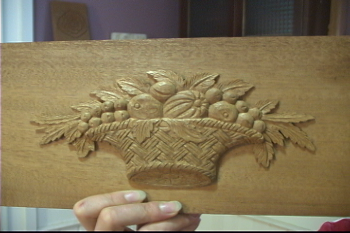 Carving a Samuel McIntire Styled Fruit Basket - Introduction