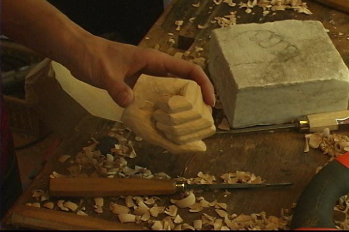 Carving a 3-D Hand - Introduction