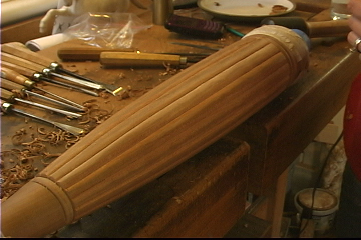 Carving Reeds on a Table Leg - Introduction